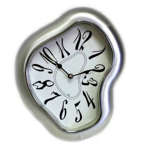Weird clock Dali