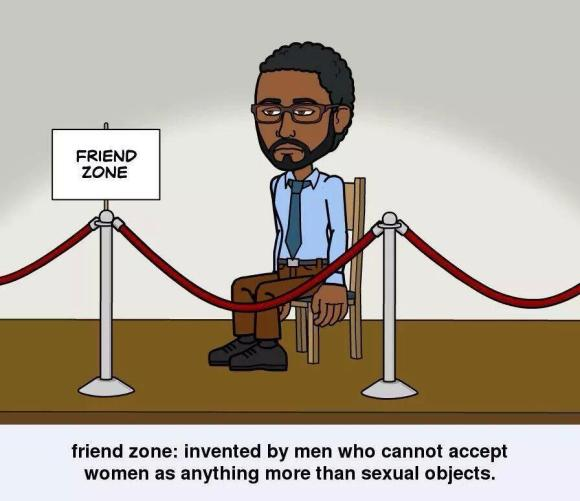 dismissive friend zone toon